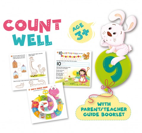 Frank Count Well Puzzles for Kids age 3Y+