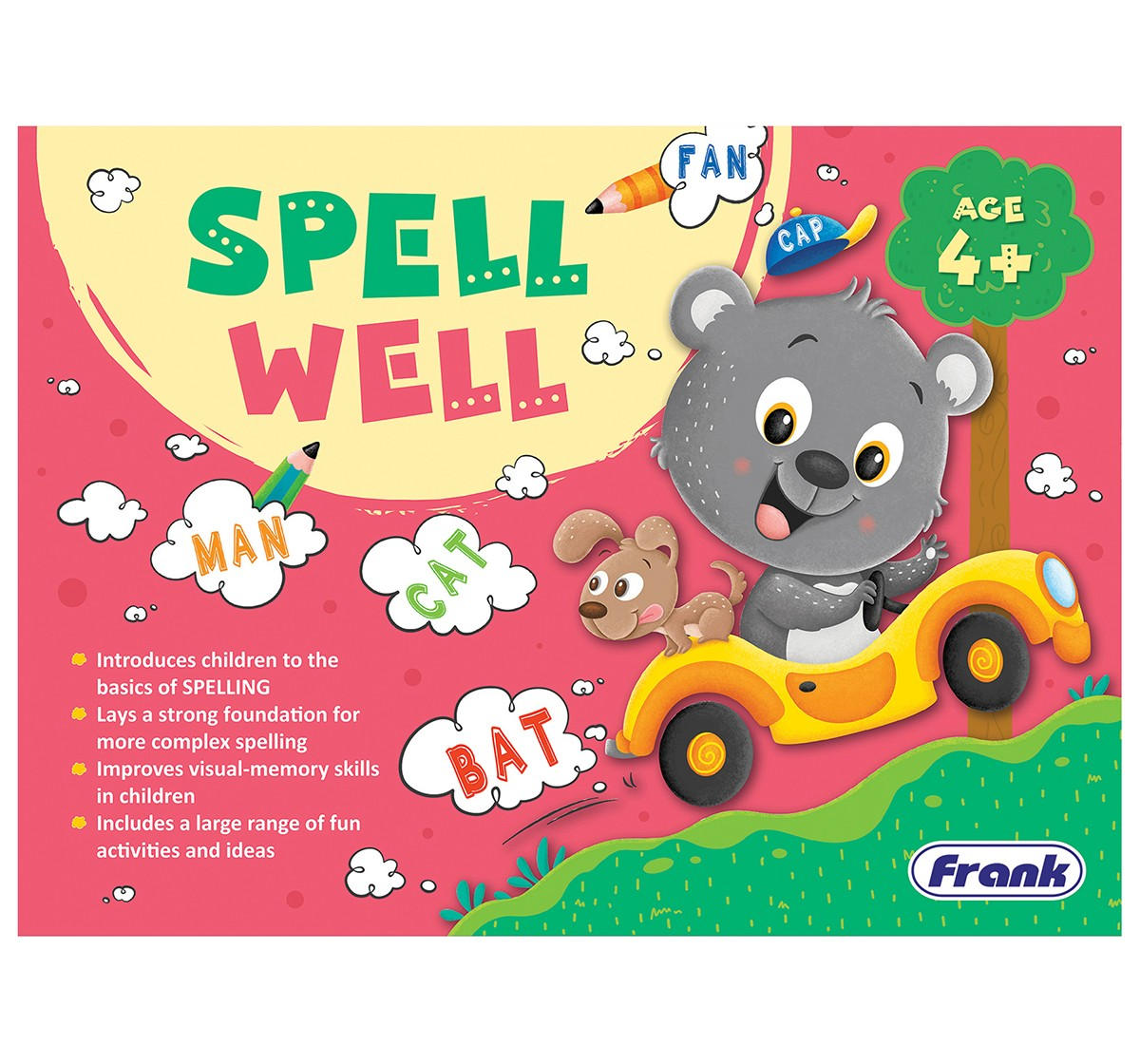 Frank Spell Well Puzzles for Kids age 3Y+