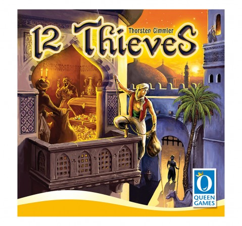 Queen Games 12 Thieves Board Games for Kids age 8Y+