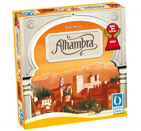 Queen Games  Alhambra Board Games for Kids age 8Y+