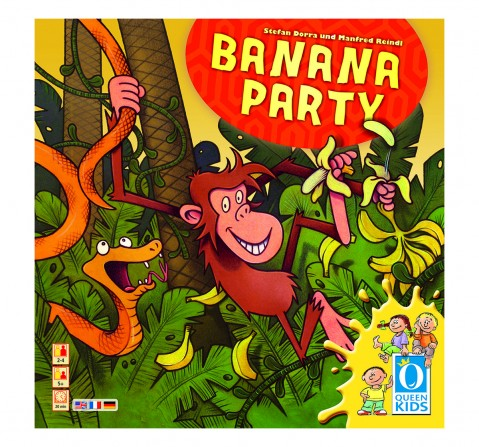 Queen Games Banana Party Board Games for Kids age 5Y+
