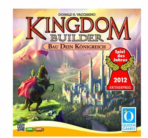 Queen Games Kingdom Builder Board Games for Kids Age 8Y+