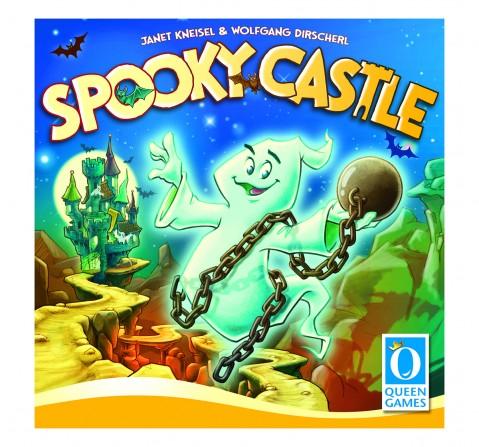 Queen Games Spooky Castle Board Games for Kids age 6Y+
