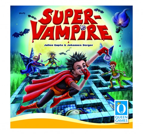 Queen Games Super Vampires Board Games for Kids age 6Y+