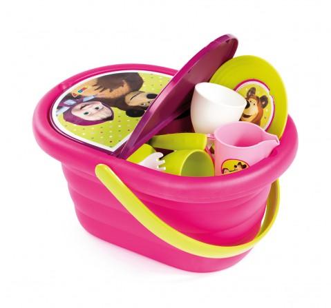 Smoby Masha Picnic Basket Supermarket & Food Playsets for Girls age 3Y+
