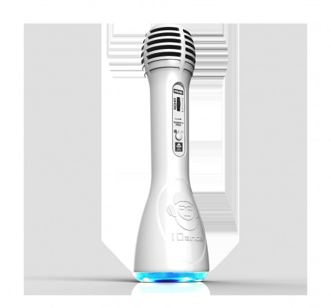 Party Mic Pm 6 White Musical Toys for Kids Age 8Y+ (White)