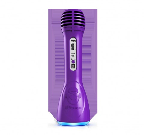 Party Mic Pm 6 Purple Musical Toys for Kids Age 8Y+ (Purple)