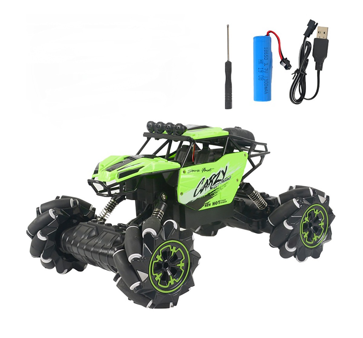 Dihua 1:10 Remote Control Stunt Lateral and Oblique Drift, Dancing off-Road Car Remote Control Toys for Kids age 14Y+