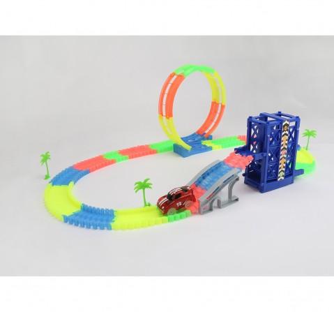 Dihua B/O Track Set Track & Train Set for Kids age 5Y+