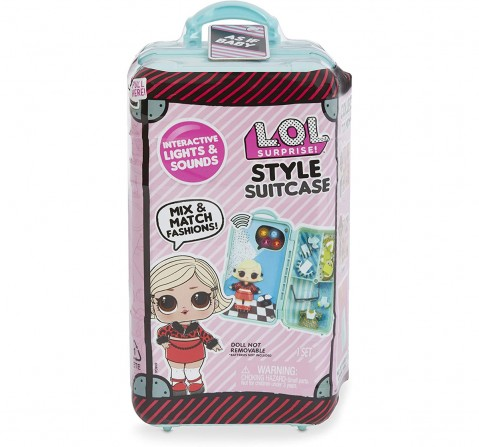 Lol  Surprise Style Suitcase Assorted Collectible Dolls for Girls age 6Y+
