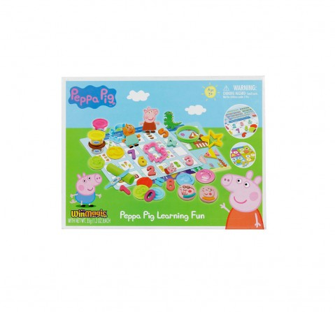 Peppa Pig Learning Fun Clay & Dough for Kids age 5Y+