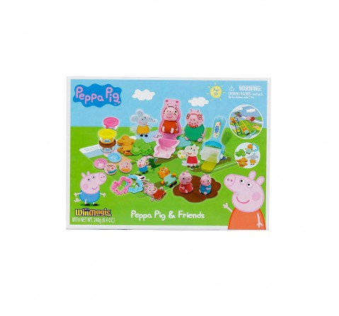 Peppa Pig AND Friends Clay & Dough for Kids age 5Y+