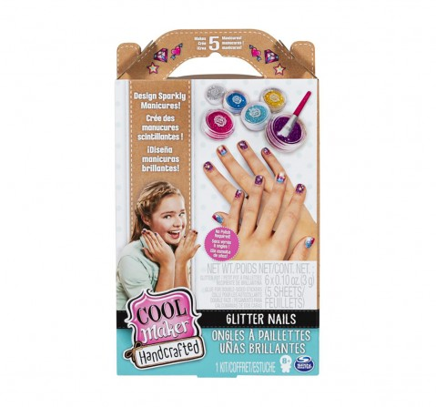 Cool Maker HandCrafted Glitter Nails  DIY Art & Craft Kits for Girls age 8Y+