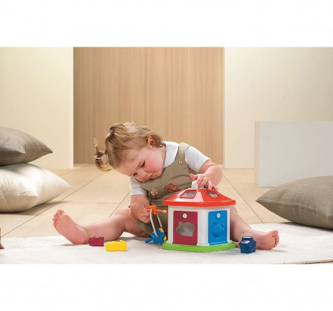 Chicco 2 in 1 Animal Cottage Shape Sorter Toy for Kids age 12M+