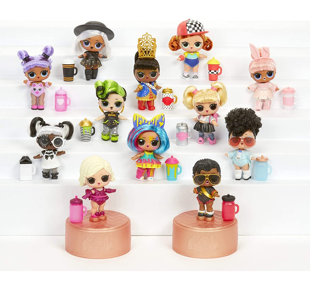L.O.L  Surprise Hairgoals Collectible Dolls for Kids age 3Y+