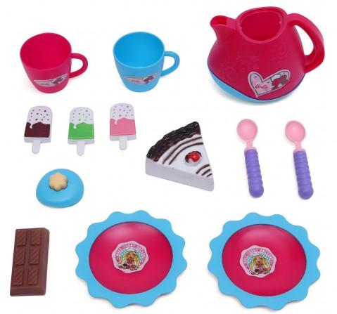 Barbie Mini Tea Party Toy Set, 2Y+ (Multicolor)