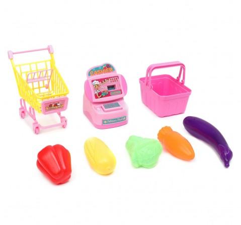 Barbie Mini Supermarket Toy Set, 2Y+ (Multicolor)