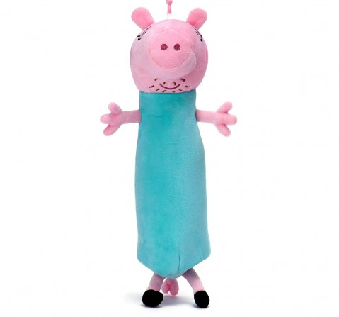 Peppa Pig Daddy Pig Pen Pouch Plush Accessory for Kids age 3Y+ - 30 Cm