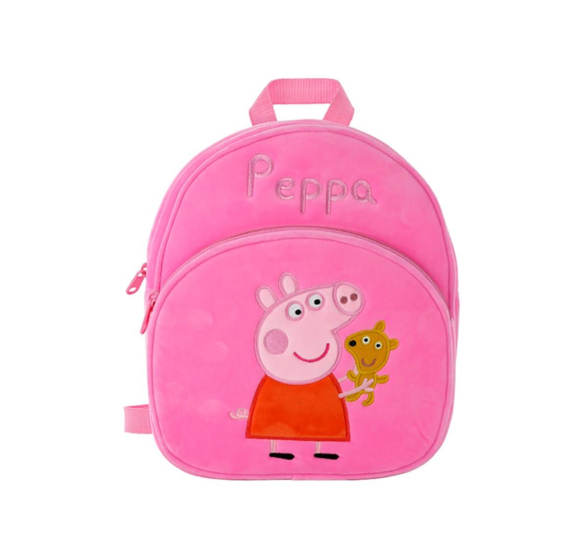 Peppa Pig Bag Plush Accessory for Girls age 1Y+ - 28 Cm (Pink)