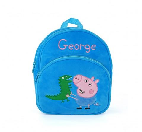 Peppa Pig George Bag Plush Accessory for Kids age 1Y+ - 28 Cm (Blue)
