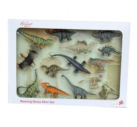 Hamleys  Mini Dino Box Set, 14Pcs, 3Y+
