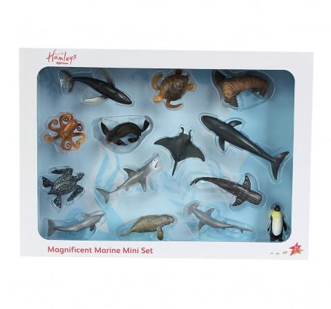 Hamleys  Mini Sea Life box set, 14Pcs, 3Y+