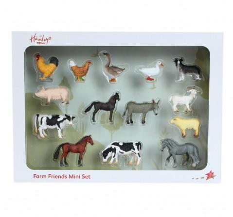 Hamleys  Mini farm Life box set, 14Pcs, 3Y+