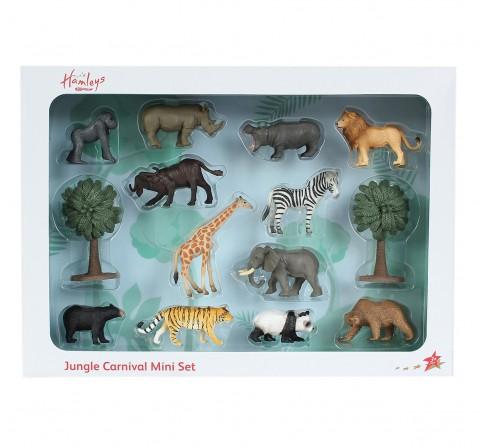 Hamleys  Mini wild Life box set, 14Pcs, 3Y+