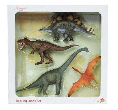Hamleys  Dinosaur Box Set, 4Pcs, 3Y+