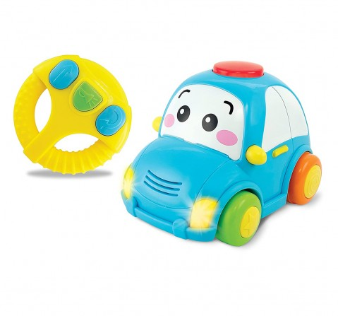 Winfun - Remote Control -  Light & Sounds Car Learning Toys for Kids age 12M+