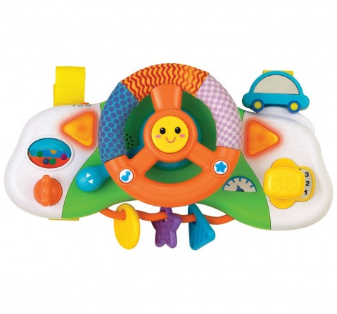 Winfun - Light & Sounds Baby Crib Driver    Learning Toys for Kids age 6M+