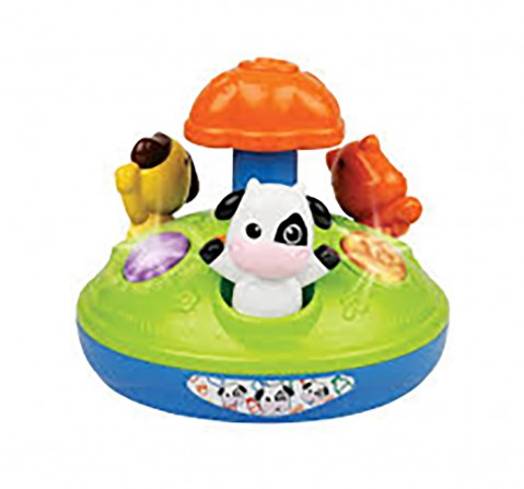 Winfun - Animal Friends Spinner  New Born for Kids age 12M+