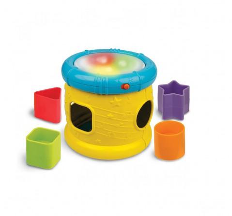 Winfun Sort'N Fun Musical Drum   Musical Toys for Kids age 12M+