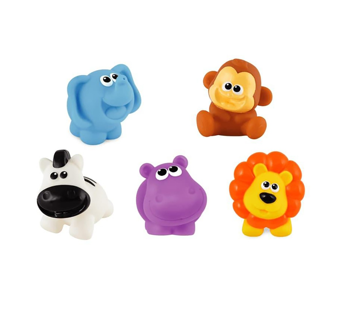 Winfun My Jungle Pals Set  Bath Toys & Accessories for Kids age 6M+