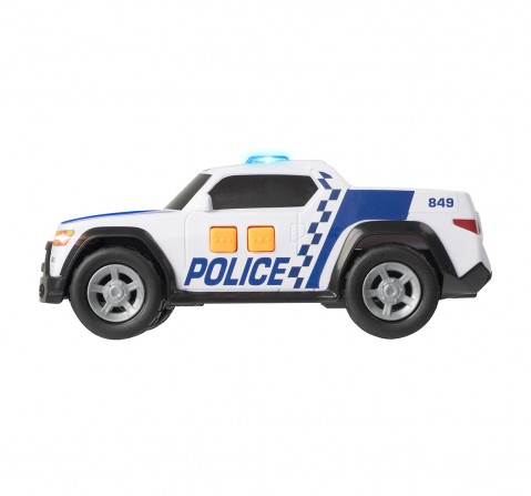 Ralleyz Light And Sound Police Pick Up Car- Small Vehicles for Kids age 3Y+