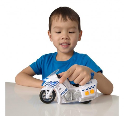 Ralleyz Light And Sound Policemotorbike-Small Vehicles for Kids age 3Y+