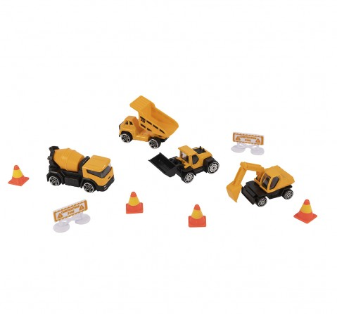 Ralleyz BUILDING MACHINES Vehicles for Kids age 3Y+