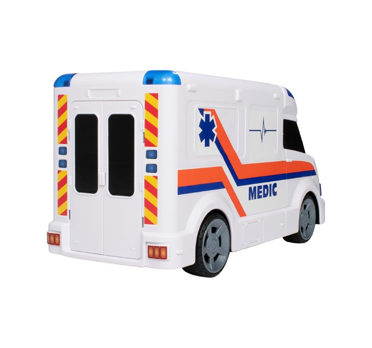 Ralleyz Light And Sound Ambulance Large Vehicles for Kids age 3Y+