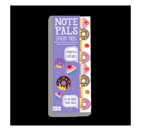 Ooly Note Pals Sticky Tabs - Donuts & Cupcakes Study & Desk Accessories for Girls age 4Y+