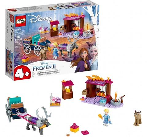 Lego Disney Princess 41166 Elsa'S Wagon Adventure Blocks for Kids age 4Y+