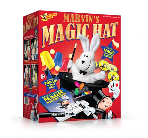Marvin'S Magic New Magic Hat Impulse Toys for Kids age 6Y+