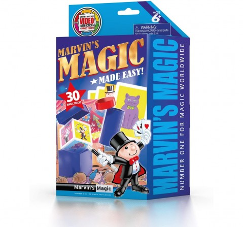 Marvin'S Magic Made Easy 30 Tricks Set 1 Impulse Toys for Kids age 6Y+