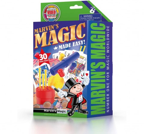Marvin'S Magic Made Easy 30 Tricks Set 2 Impulse Toys for Kids age 6Y+