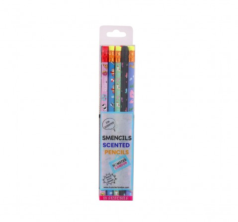 Hamster London Scented Pencils Set of 10 for Kids age 3Y+