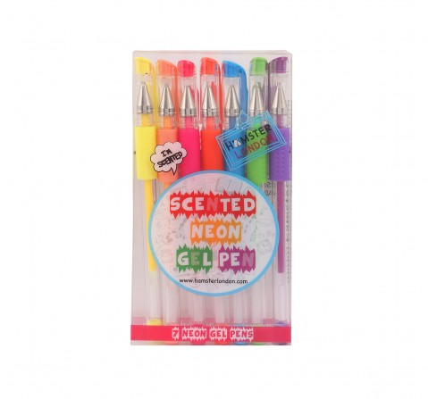 Hamster London Neon Pens Set of 7 for Kids age 3Y+