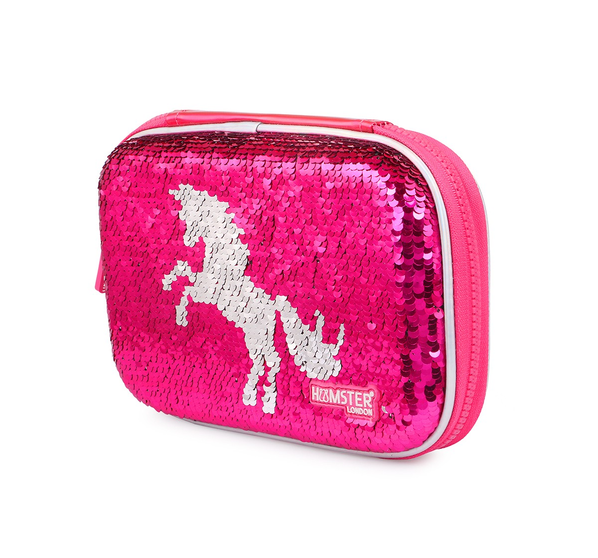 Hamster London Sequence Unicorn Stationery Hardcase for Girls age 3Y+ (Pink)