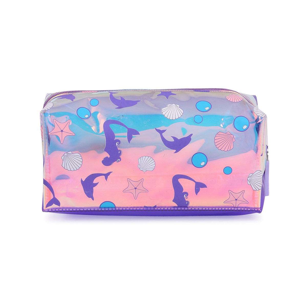 Hamster London Rectangular Mermaid Pouch for Girls age 3Y+ (Purple)