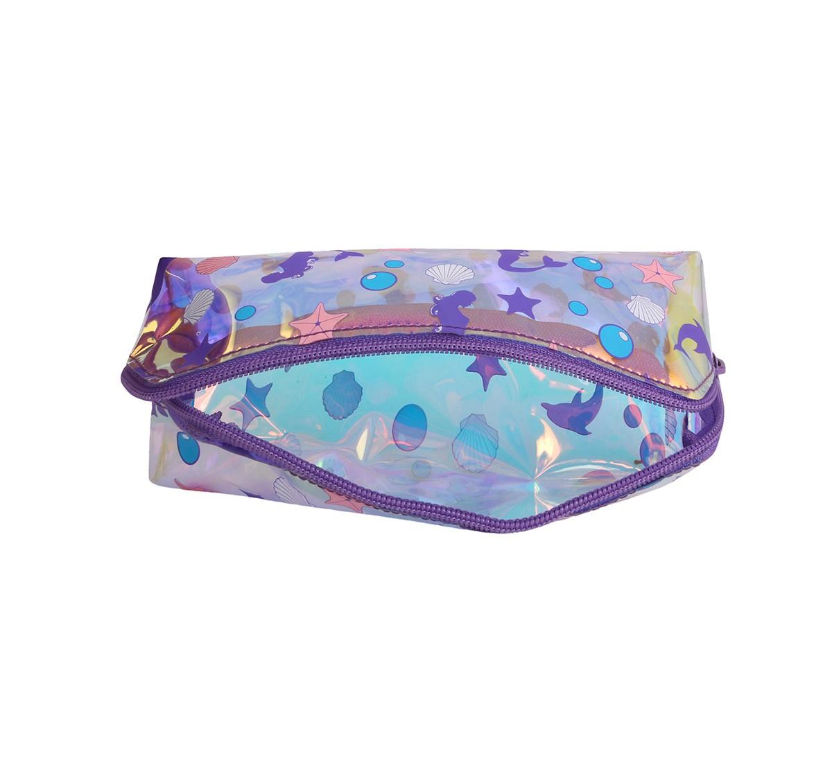 Hamster London Triangular Mermaid Pouch for Girls age 3Y+ (Purple)