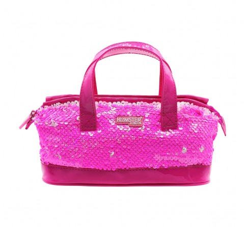 Hamster London Sequence Mini Handle Back Pink Bags for Girls Age 3Y+ (Pink)