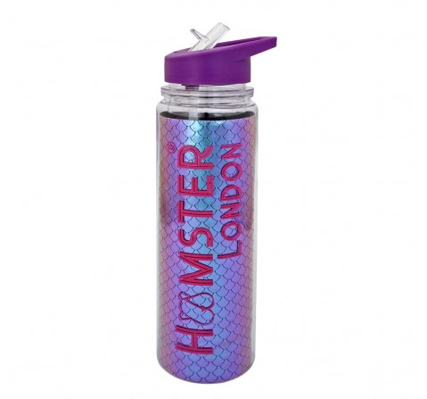 Hamster London Sequence Purple Mermaid Bottle Bags for Kids Age 3Y+ (Purple)